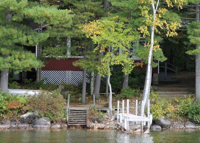 Views and Exterior - Winnipesaukee Lake Cottage Winnipesaukee(TIM86Wf) - Moultonborough - rentals