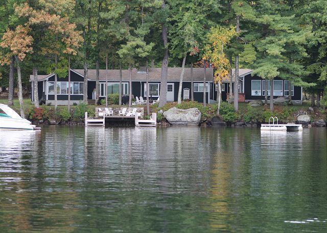 Ext - Waterfront Lake Winnipesaukee (SMI117W) - Moultonborough - rentals