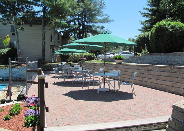 Pool Patio - Village at Winnipesaukee Condo (FAL111Bf) - Laconia - rentals