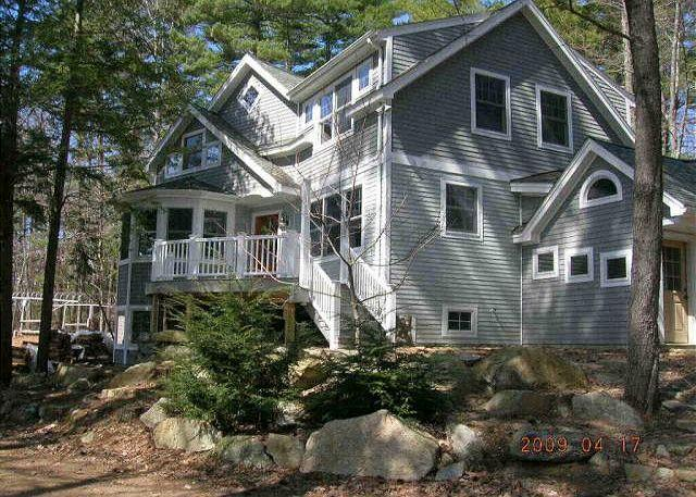 Ext of Building - Beautifully Crafted Waterfront Lake Winni (HYN21Wc) - Meredith - rentals