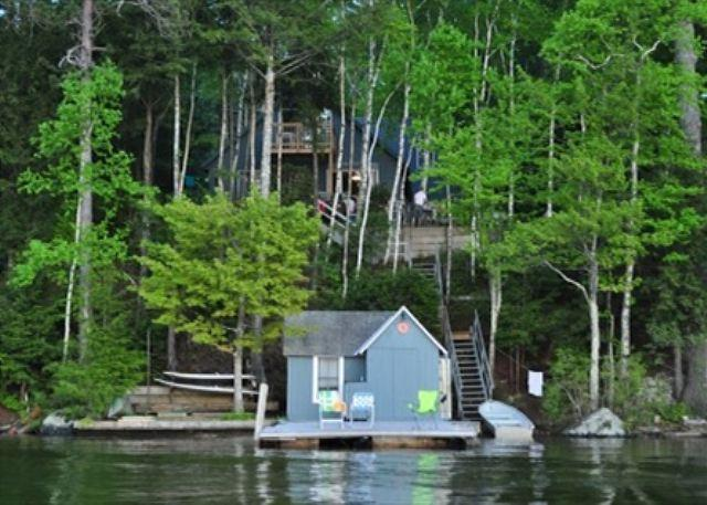 View from Water - Waterfront in Alton Bay Winnipesaukee(FER25Wf) - Alton - rentals
