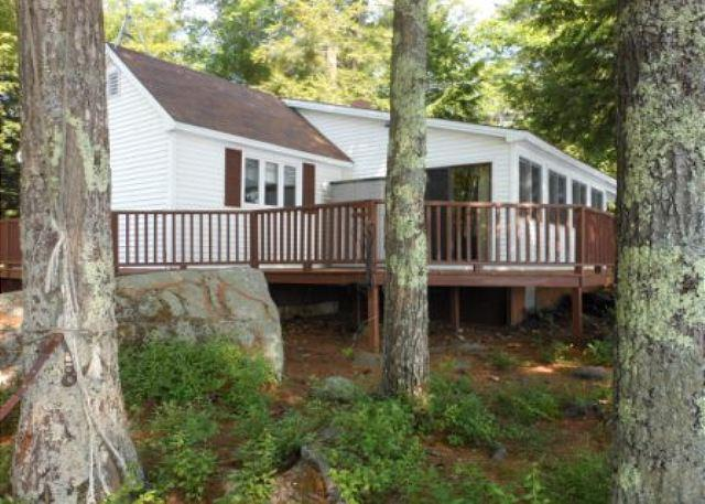 Exterior - Lake Waukewan Vacation Rental in the Lakes Region (MAR8Wf) - New Hampton - rentals