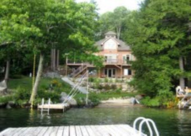 Exterior - Beautiful Waterfront Vacation Home on Lake Winnipesaukee (MAC20W) - Meredith - rentals