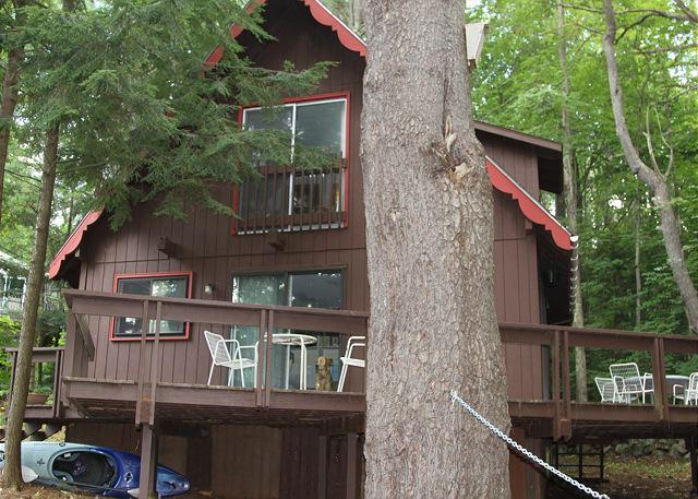 Ext - Beach Access in Sands of Brookhurst on Lake Winnipesaukee, Sleeps 7(ALE20Bf) - Meredith - rentals