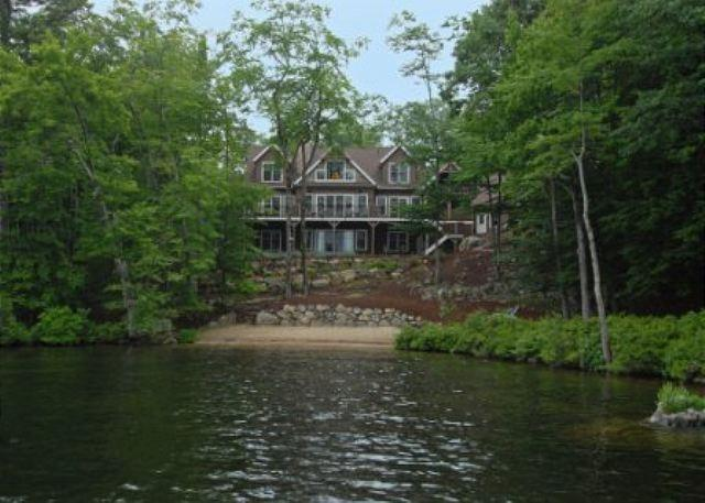 Water Side View - Secret of South Winds on Lake Winnipesaukee in Moultonborough (HAR27WaF) - Moultonborough - rentals