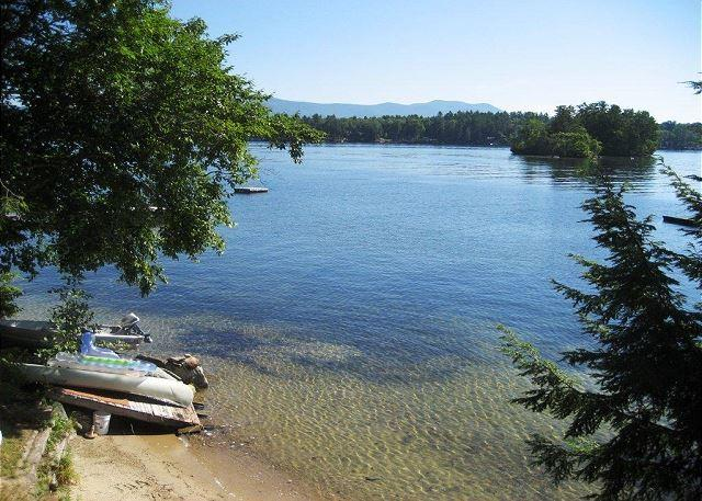Sandy Beach and Amazing Views on Black Cat Island (GOL128Wlr) - Image 1 - Moultonborough - rentals