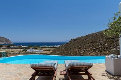 Magical 4 Bedroom Villa on Agrari Beach - Image 1 - Elia Beach - rentals