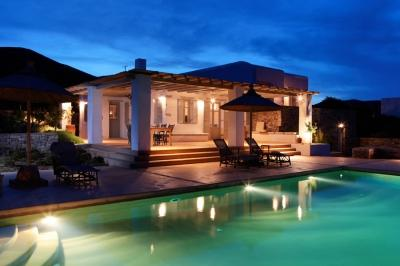 Exquisite 5 Bedroom Villa in Magganies - Image 1 - Agios Georgios - rentals