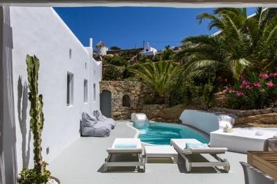 Magical 4 Bedroom Villa in Mykonos - Image 1 - Mykonos - rentals