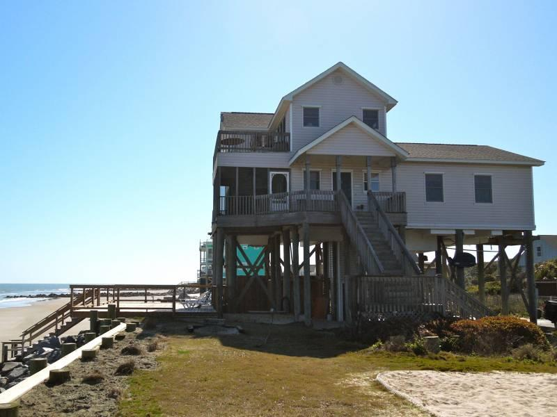 Exterior of 1 Summer Place - 1 Summer Place - Folly Beach, SC - 3 Beds - 3 Baths - Blue Mountain Beach - rentals
