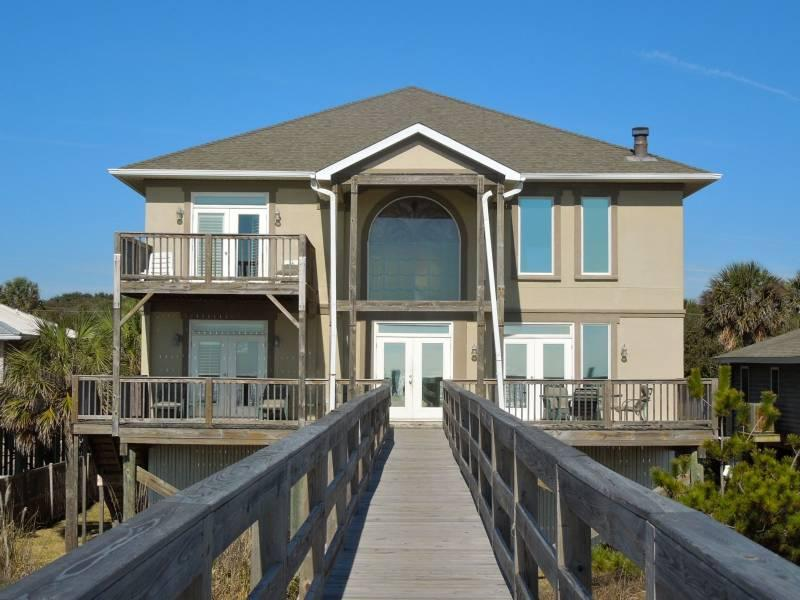 Ocean Side of Home - All Occasion House - Folly Beach, SC - 4 Beds - 3 Baths - Blue Mountain Beach - rentals
