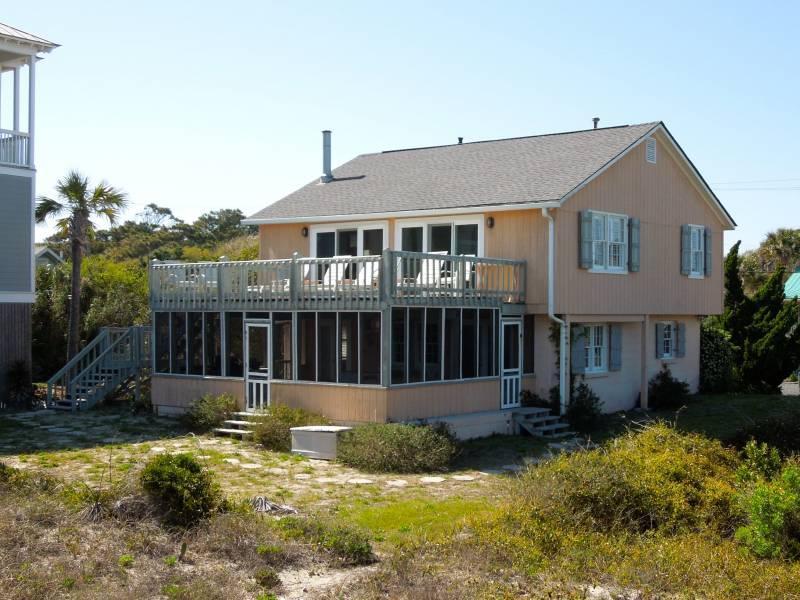 Exterior - Beach Music - Folly Beach, SC - 4 Beds - 2 Baths - Blue Mountain Beach - rentals