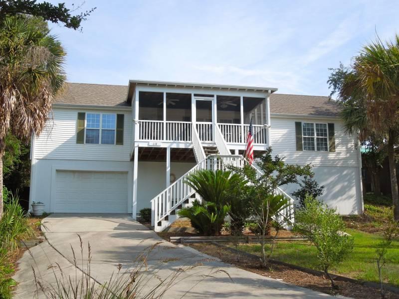 Exterior - Camary - Folly Beach, SC - 3 Beds BATHS: 2 Full - Folly Beach - rentals