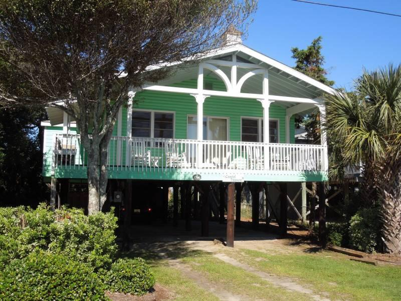 Exterior - Coastal Treasure - Folly Beach, SC - 3 Beds BATHS: 2 Full - Folly Beach - rentals