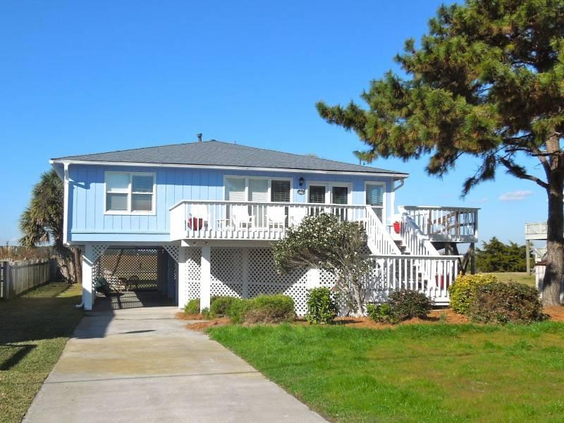 Exterior - Cole Creek - Folly Beach, SC - 4 Beds BATHS: 3 Full - Folly Beach - rentals