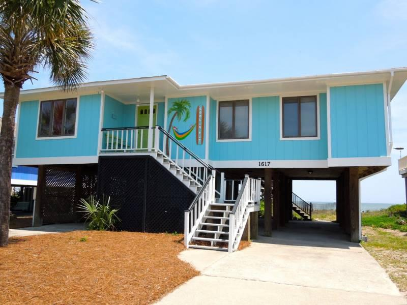 Front - Coolin' Out - Folly Beach, SC - 3 Beds BATHS: 2 Full - Folly Beach - rentals
