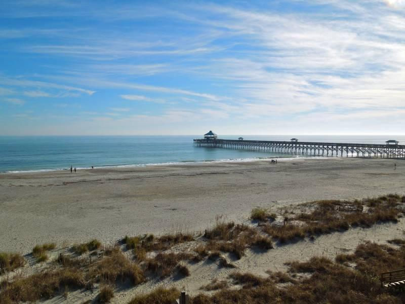 Amazing Oceanfront View!! - Folly Beach Suites 3A - Folly Beach, SC - 1 Beds BATHS: 1 Full - Folly Beach - rentals
