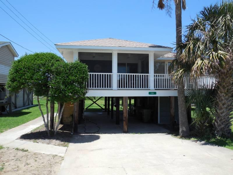 Front Exterior - Katie's Cottage - Folly Beach, SC - 3 Beds BATHS: 1 Full - Folly Beach - rentals