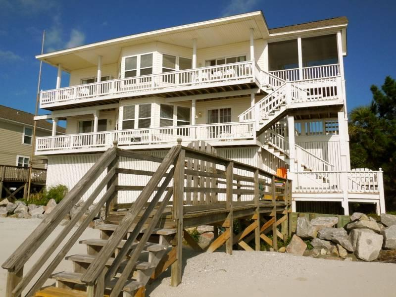 Spacious Home with Gravious Views from Every Room - Low Places - Folly Beach, SC - 4 Beds - 3 Baths - Blue Mountain Beach - rentals