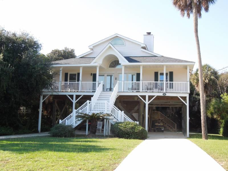 Exterior - Luna-Sea - Folly Beach, SC - 4 Beds BATHS: 2 Full - Folly Beach - rentals
