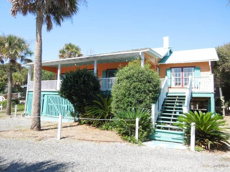 Exterior - Neptune's Folly - Folly Beach, SC - 3 Beds BATHS: 2 Full - Folly Beach - rentals