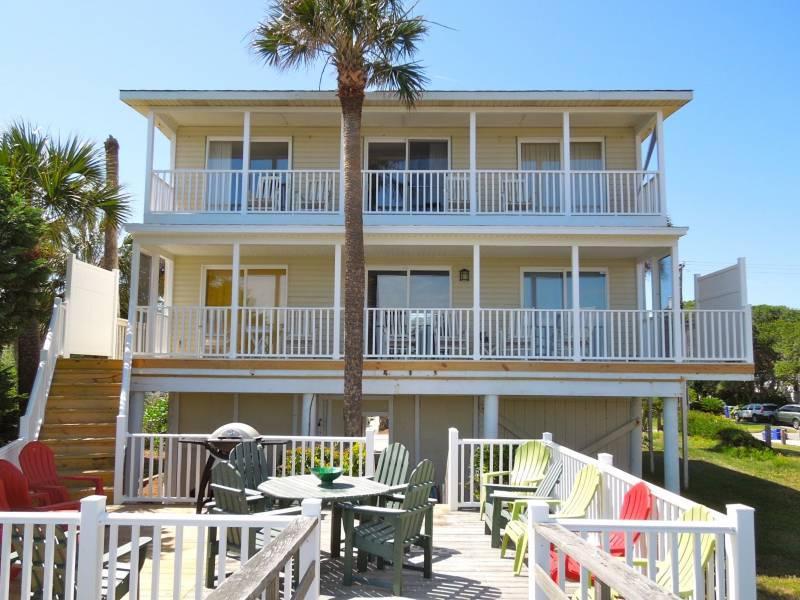 Aloha - Aloha - Folly Beach, SC - 6 Beds BATHS: 4 Full - Folly Beach - rentals