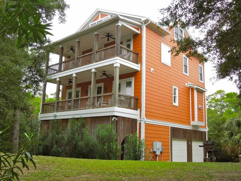 Gracious Secluded Home Just 1 Block From The Beach - Over Yonder - Folly Beach, SC - 4 Beds BATHS: 4 Full 1 Half - Folly Beach - rentals