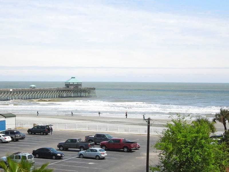 View from the Patio - Pier Pointe Villas C301 - Folly Beach, SC - 3 Beds BATHS: 3 Full - Folly Beach - rentals