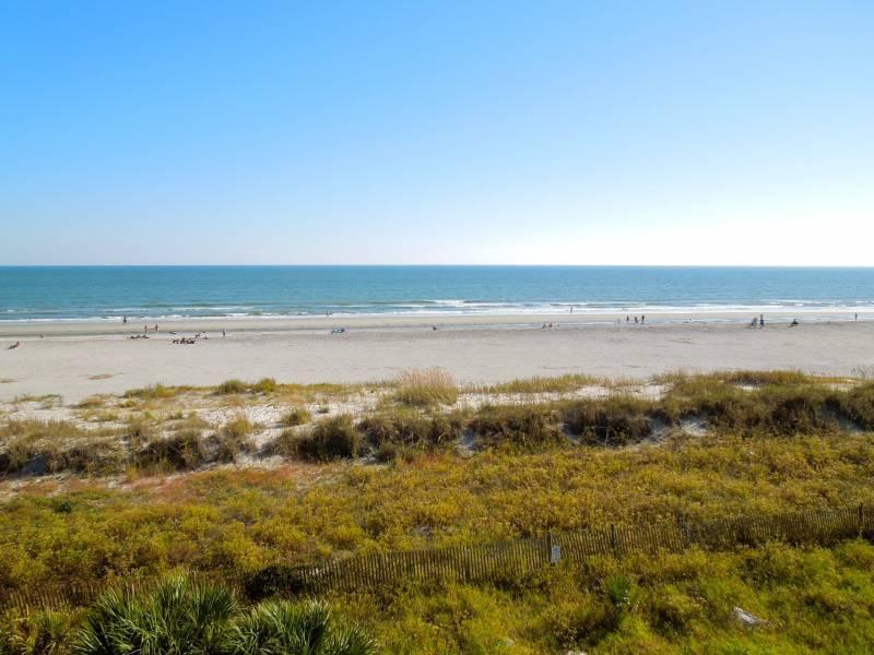 View - Seacoast Villas 5 - Folly Beach, SC - 3 Beds BATHS: 3 Full - Folly Beach - rentals