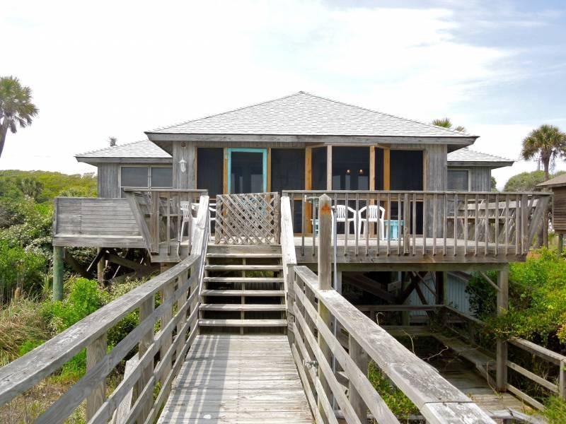 Exterior - Sho-Rest - Folly Beach, SC - 2 Beds BATHS: 2 Full - Folly Beach - rentals