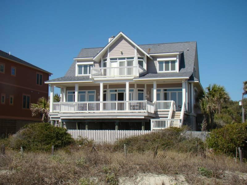 Exterior - Sunrise, Sunset - Folly Beach, SC - 3 Beds - 4 Baths - Blue Mountain Beach - rentals