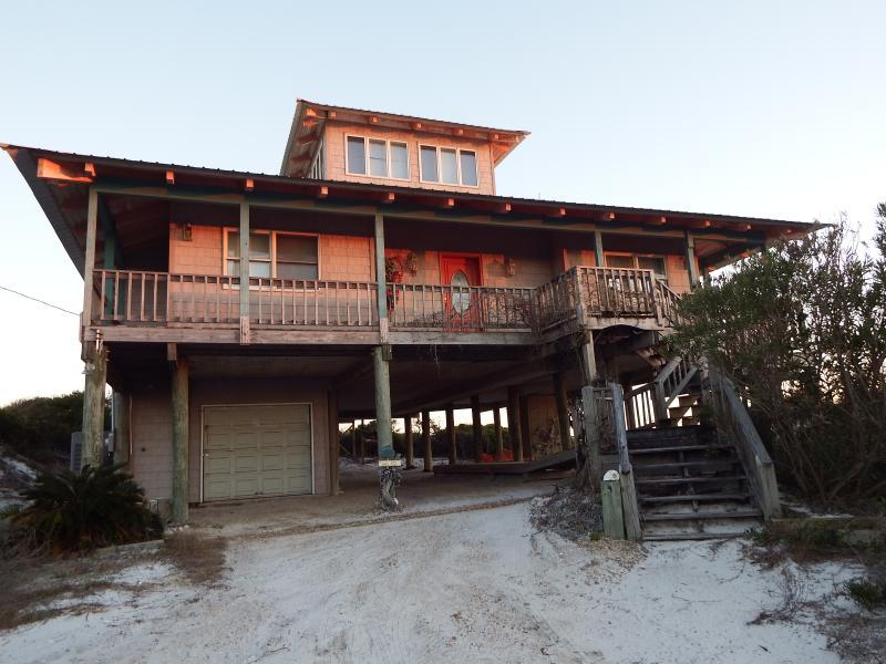 Dog Island Dream Weaver Beach House - Image 1 - Carrabelle - rentals
