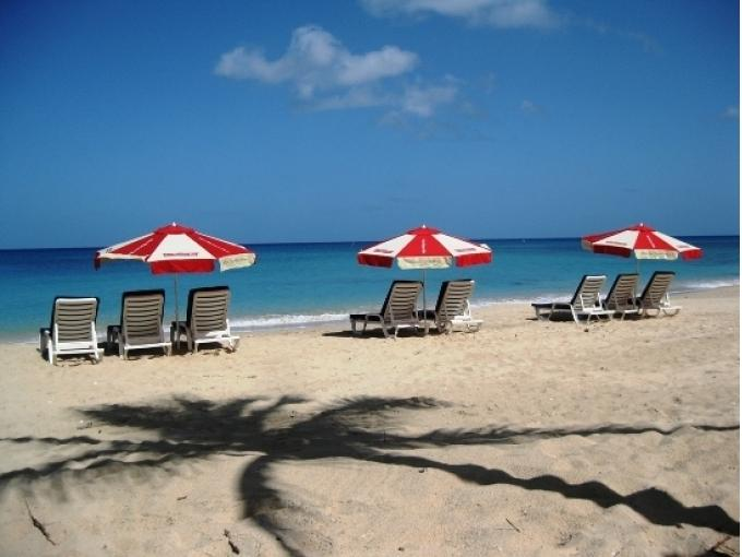 Your beach chair awaits on nearby Mullins Beach - drinks served on the sand. - Spindrift Villa,  Gibbes & Mullins beaches - Mullins - rentals