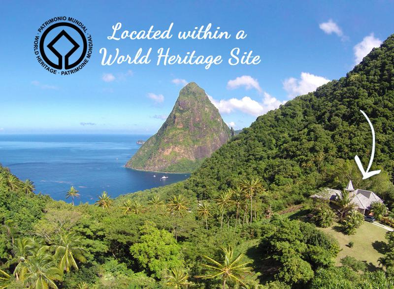 Welcome to the Villa Pitons Retreat, located within the Pitons World Heritage Site... - Pitons Retreat - Located in a World Heritage Site - Soufriere - rentals