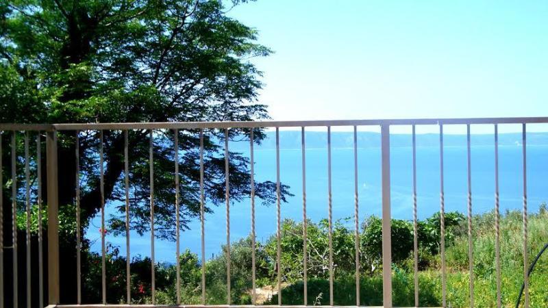 H(4+1): terrace view - 2522 H(4+1) - Tucepi - Tucepi - rentals