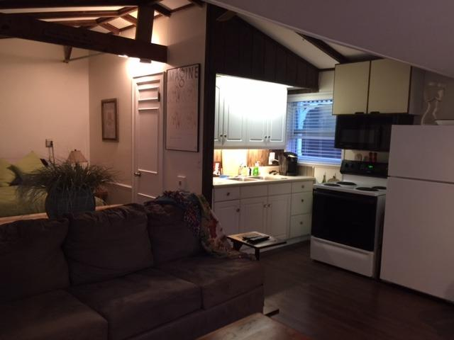 Full Kitchen Area with everything you'd need to cook - Remodeled Guest Cottage - Sarasota - rentals