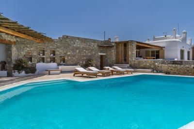 Spectacular 5 Bedroom Villa in Mykonos - Image 1 - Mykonos - rentals