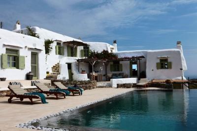 Delightful 4 Bedroom Villa in Panormos - Image 1 - Panormos - rentals