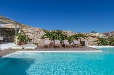 Spectacular 3 Bedroom Villa in Mykonos - Image 1 - Mykonos - rentals