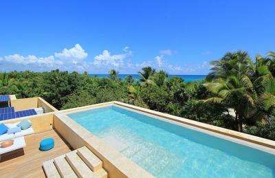 4 Bedroom Villa in Sian Ka'an - Image 1 - Punta Allen - rentals