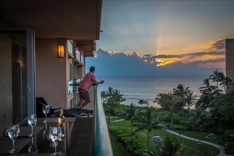 Maui Westside Properties: Konea 642 - Two Bedroom Ocean View Quiet North Side! - Image 1 - Ka'anapali - rentals