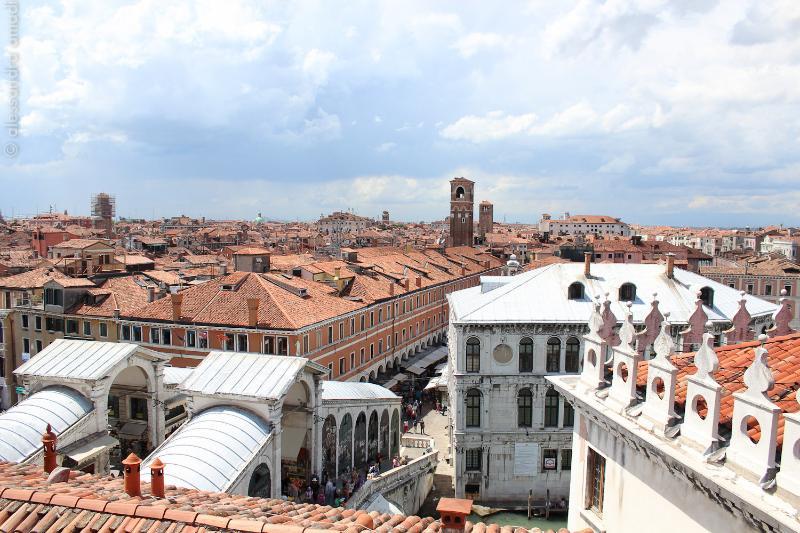 Rialto Bridge from the upper terrace - Altana Albachiara - Altana Albachiara The best view of Venice - Venice - rentals