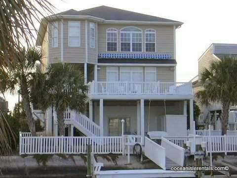 Canal Waterfront-5br-5ba- Golf Cart 46 Pender - Image 1 - Ocean Isle Beach - rentals