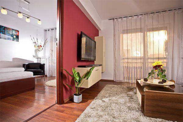 Spacious and cozy living room and bedrom - Luxury Apartments - Central Bucharest - Bucharest - rentals