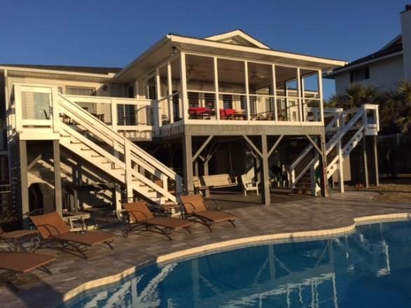 "3328 Palmetto Blvd - ""Carolina Sunset"" - Image 1 - Edisto Beach - rentals"