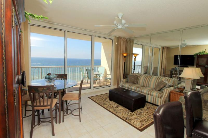 Ocean Side Balcony View at Majestic Beach Resort - Image 1 - Panama City Beach - rentals