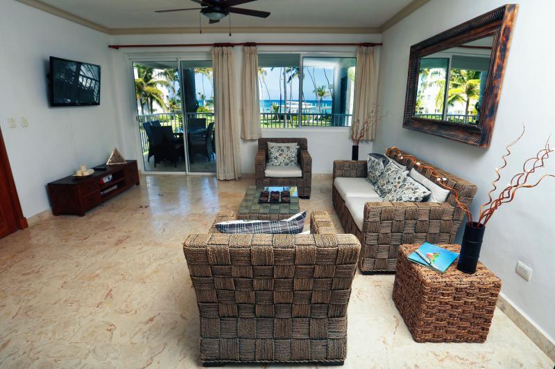 Beautiful BeachFront Condo + Maid Service - Image 1 - Punta Cana - rentals