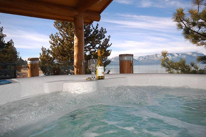 Private Hot Tub - 3819 Beach Road - South Lake Tahoe - rentals