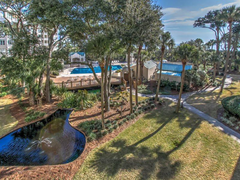 View from 206 Windsor Place - 206 Windsor Place - Palmetto Dunes - rentals