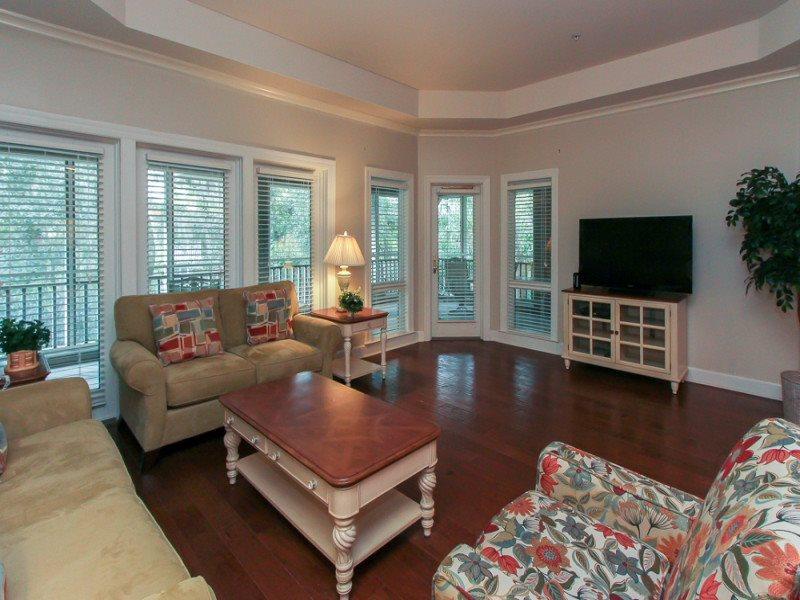 Living Area at 8116 Wendover Dunes - 8116 Wendover Dunes - Hilton Head - rentals